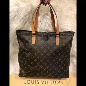 Authentic Louis Vuitton Cabas Mezzo #3.1M
